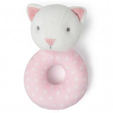 T20727: Baby Girls Cat Rattle Toy