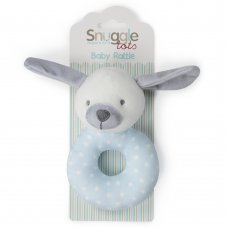 T20728: Baby Boys Puppy Rattle Toy