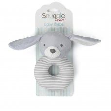 T20729: Baby Unisex Bunny Rattle Toy