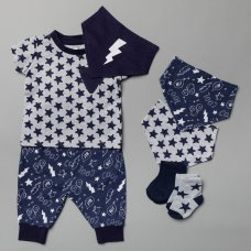 T20808:  Baby Boys Cool 7 Piece Set (0-18 Months)
