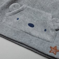 T20814: Baby Boys Stars 2 Piece Outfit (0-9 Months)