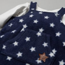 T20816: Baby Boys Stars 2 Piece Outfit (0-9 Months)