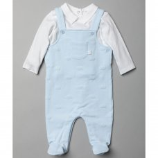 T20817: Baby Boys Royal Baby 2 Piece Outfit (0-9 Months)