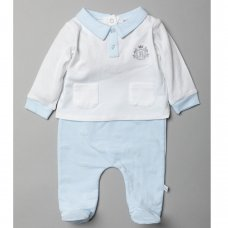T20818: Baby Boys Royal Baby 2 Piece Outfit (0-9 Months)