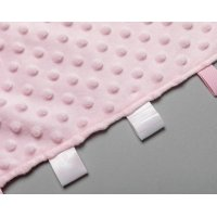 T20828: Pink Bubble Taggie Comforter