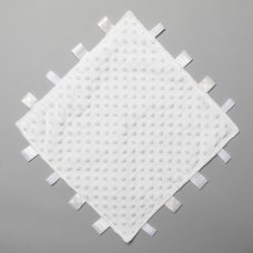 T20730: White Bubble Taggie Comforter