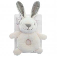 TOY190100: Little Bunny 20CM Plush Rattle