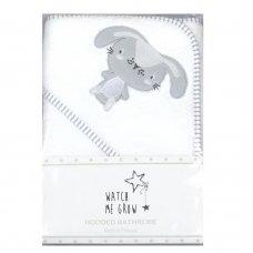 J1764: Baby Unisex Bunny Hooded Towel/Robe