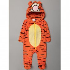 S19500: Baby Tigger Fleece Onesie/All In one (0-9 Months)