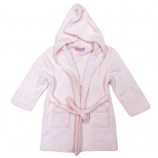 AD1387: Plain Pink Dressing Gown (2-5 Years)