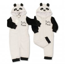 BIS-2020-2339: Baby Panda Hooded All In One (0-18 Months)