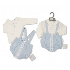 BIS-2020-2427: Baby Boys 2 Piece Outfit (NB-6 Months)