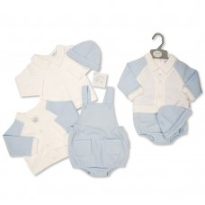 BIS-2020-2430: Baby Boys 4 Piece Outfit (NB-6 Months)