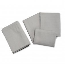 BW-0503-0530G: 6 Pack Plain Muslin Squares- Grey