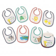 BW-104-765: Baby Days of the Week Bibs - Boys - Animals