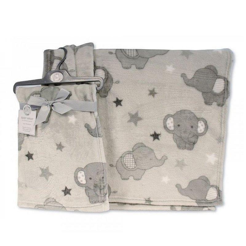 BW-112-1024: Baby Grey Elephant Wrap