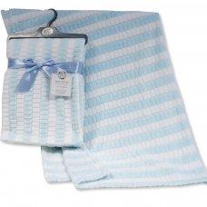 BW-112-1031S: Baby Jacquard Wrap - Two Tone