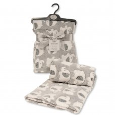 BW-112-1033-G: Baby Grey Elephant Wrap