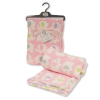 BW-112-1033-P: Baby Pink Elephant Wrap