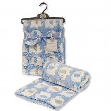 BW-112-1033-S: Baby Sky Elephant Wrap