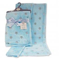 BW-112-1035S: Baby Foil Print Wrap- Sky
