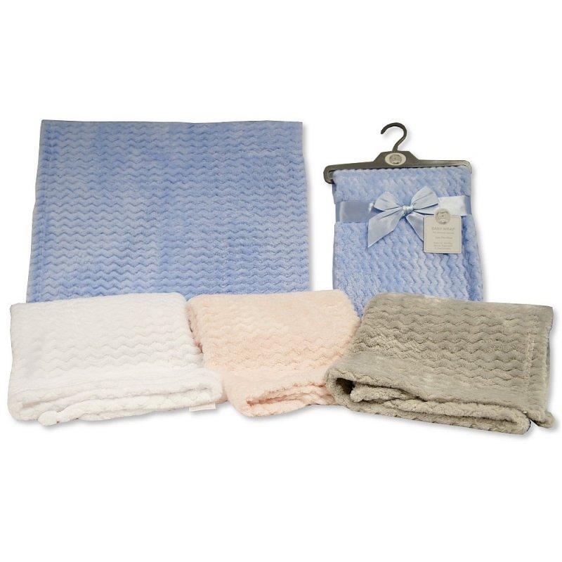 BW-112-1041: Baby Jacquard Flannel Wrap