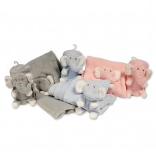 BW-112-1048: Baby Roll Wrap with Integrated Elephant Toy