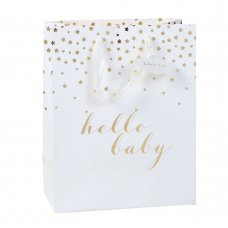 GB104: Hello Baby Large Gift Bag (33 x 26.5 cm)
