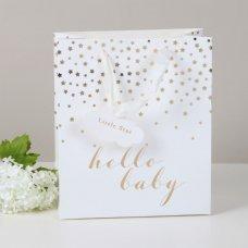 GB105: Hello Baby Medium Gift Bag (25 x 21.5 cm)