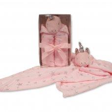GP-25-0975: Baby Unicorn Blanket Comforter in Box