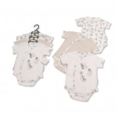 GP-25-0979: Baby Unisex ABC 3 Pack Bodysuits (NB-6 Months)