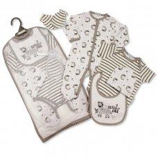 GP-25-1029: Baby Unisex 5 Piece Gift Set - Wild One (NB-6 Months)