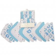GP-25-1057S: Baby Wash Cloths 12-Pack - Sky