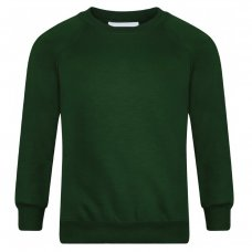 School Sweatshirts - Bottle Green