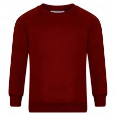 School Sweatshirts - Burgundy