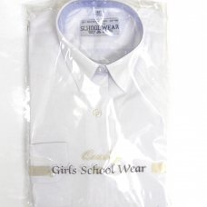 Girls School Blouse (24-44) - Short Sleeve