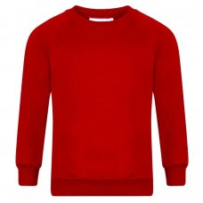 School Sweatshirts - Red