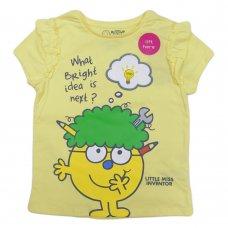 CH7: Girls Little Miss Inventor T-Shirt (1-6 Years)