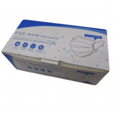 MASK1: Disposable 3 Ply Non-Medical, Non-Surgical Protective Face Mask