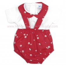 MC409: Baby Girls 2 Piece Floral Outfit (0-9 Months)