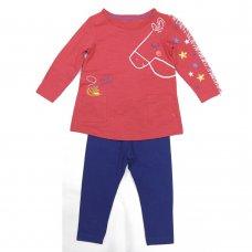 MS01: Infant Girls Top & Legging Set  (1-5 Years)