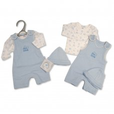PB-20-350: Premature Baby Boys 2 Piece Set with Hat - Little Love