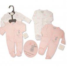 PB-20-377P: Premature Girls Sleepsuit 2-Pack - Patience