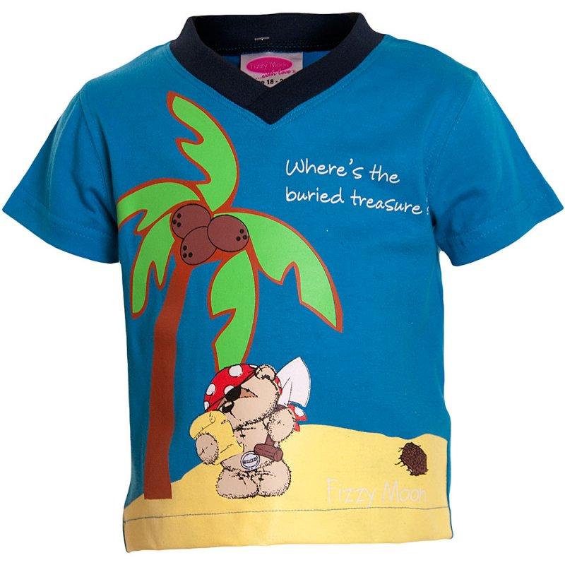 2201101: Baby Boys Buried Treasure T-Shirt  (6 Months- 3 Years)