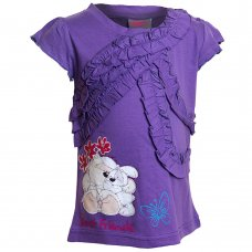 2204101: Girls Fizzy Moon T-Shirt (2-6 Years)