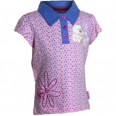 2206501: Girls Fizzy Moon Polo Shirt (2-6 Years)