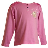 22085P: Girls Pink Fizzy Moon Top (2-6 Years)