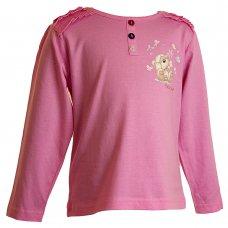22085P: Girls Pink Fizzy Moon Top (3-6 Years)