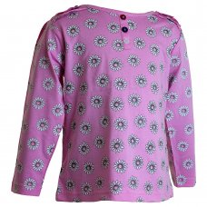 22085F: Girls Floral Fizzy Moon Top (3-6 Years)