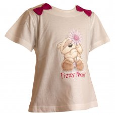 2208701: Girls Fizzy Moon T-Shirt (3-6 Years)